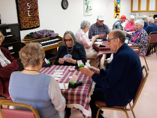 """The Senior Olympics of Grant County hosted a bridge tournament on Thursday as part of the local Senior Olympics 2016 games. The tournament, held at the senior center, drew over 20 contestants. """"This year it is a local event, but we are looking at the state to see if we could make this an official state event next year,"""" said games coordinator Mario Quintana. Opening ceremonies for the Senior Olympics of Grant County will be held at 9 a.m. on April 16 at Fox Field in Silver City."""