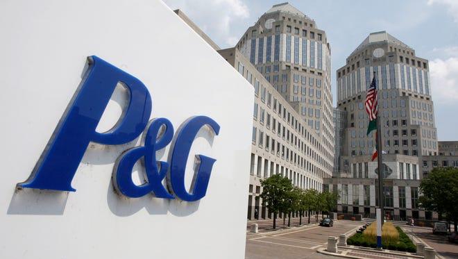 Procter & Gamble's headquarters building in Cincinnati.