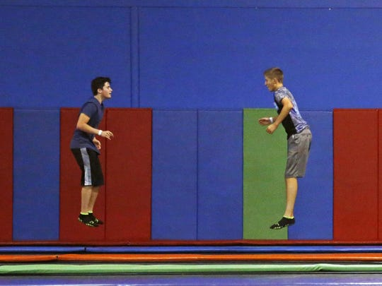 AZ Air Time includes a 5,000-square-foot main trampoline