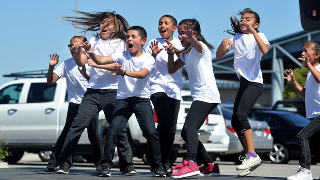 "Rio Del Mar school students perform a dance to the song ""Thriller"" during the Day for Kids at the Boys & Girls Clubs of Greater Oxnard and Port Hueneme in September 2015."