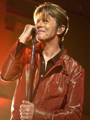 Musician David Bowie died in January 2016 following
