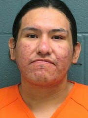 FILE - This undated file booking photo provided by the Montana Department of Corrections shows Frank Joey Half Jr. An inquest has found officers were justified in shooting and killing Half, who was high on methamphetamine and had barricaded himself inside a sporting goods store with a cache of weapons and shot at officers. (Montana Department of Corrections via AP, File)