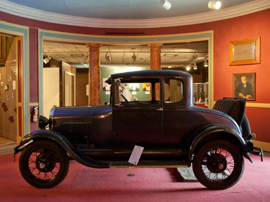 A Ford Model A is part of the Behind the Barrel: Prohibition in the Blue Water Area exhibit at the Port Huron Museum. The exhibit opens Saturday.