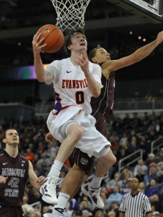 UE sophomore Ryan Sawvell has struggled to find consistent playing time this season. JASON CLARK/COURIER & PRESS