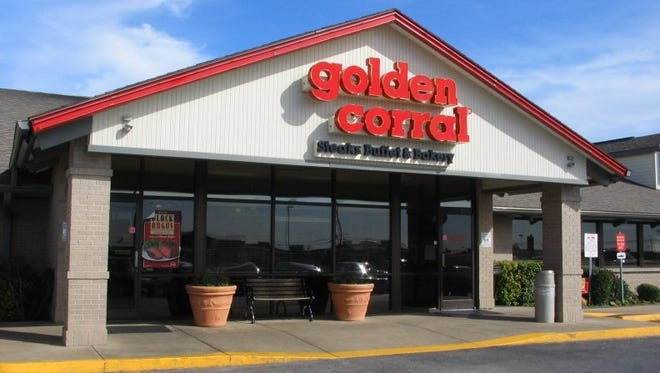 Golden Corral is scheduled to open this summer in Poughkeepsie. A file photo depicts another restaurant location.