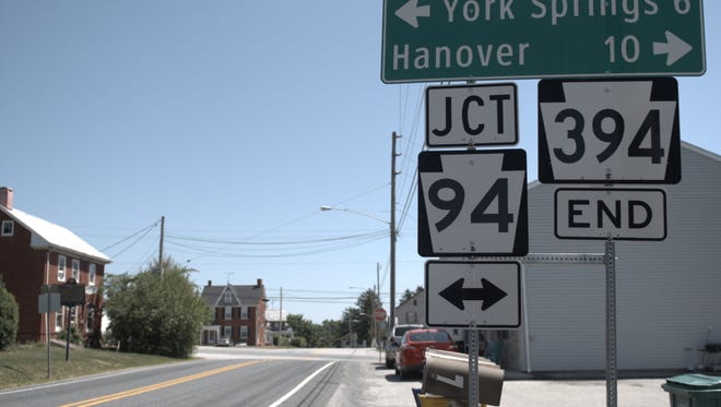 A roundabout at Route 394 and Route 94 in Reading Township is scheduled to begin construction in 2019.