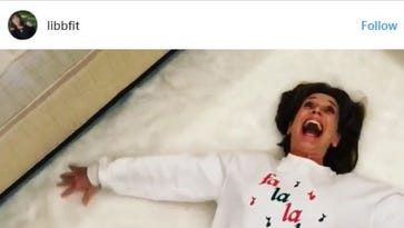 Shreveport mom's living room 'snow angel' goes viral