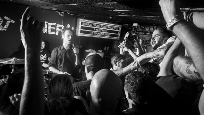 The Bouncing Souls at the Court Tavern in 2014.