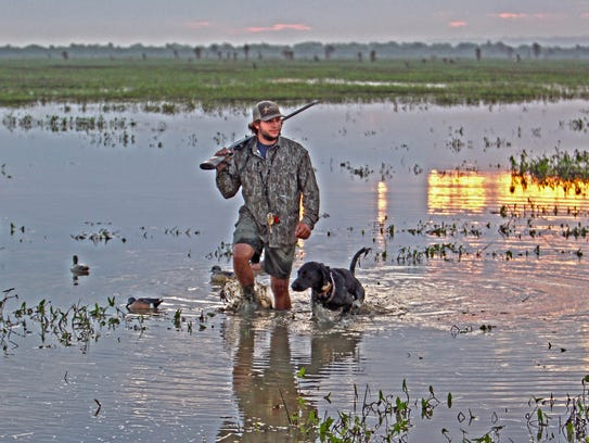 Hunter Soileau guides for his family's Full Strap &