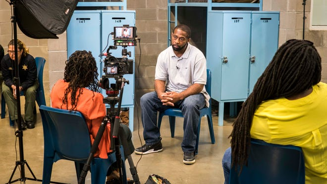 Harold Sylvester speaks with USA TODAY about the re-entry program at Lafayette Parrish prison in Louisiana.