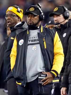 Pittsburgh Steelers coach Mike Tomlin.