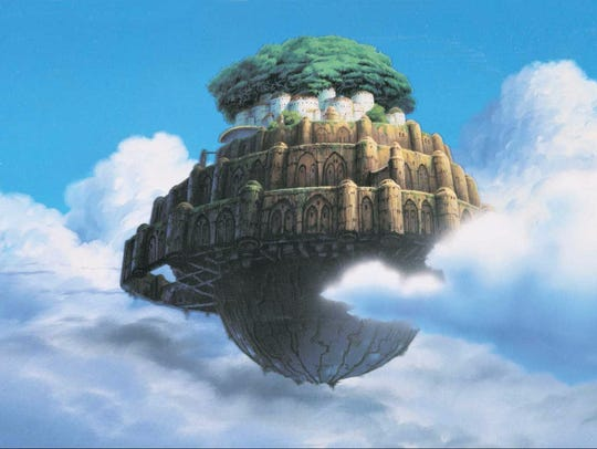 """""""Castle in the Sky"""" kicks off a month of movies by Japanese animation master Hayao Miyazaki at the Avalon Theater."""