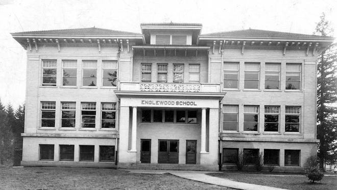 Englewood Elementary School in northeast Salem is seen in an undated photo. The school was opened in 1910.