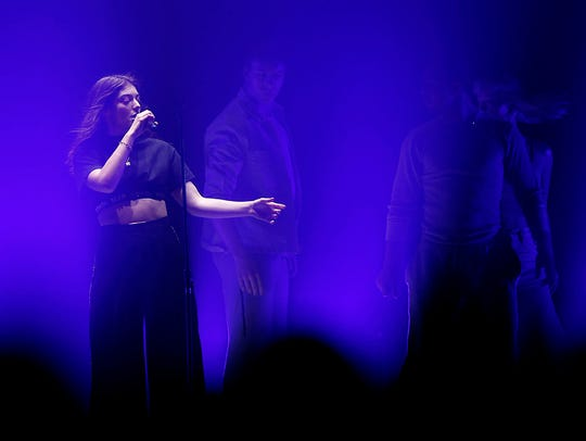 Lorde performs during her Melodrama World Tour at Gila