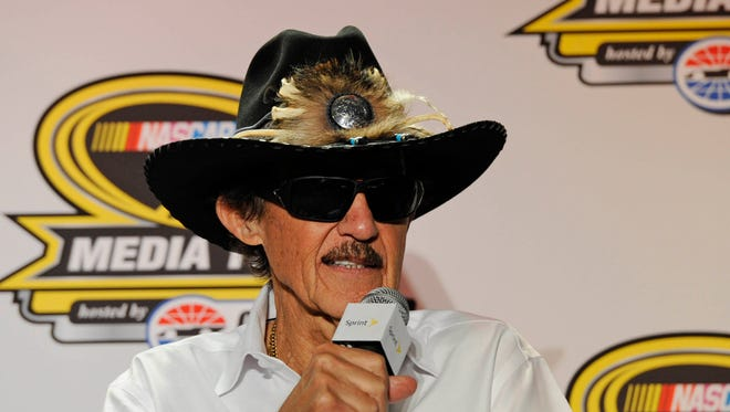 Richard Petty refused to back down from controversial comments he made about Danica Patrick.