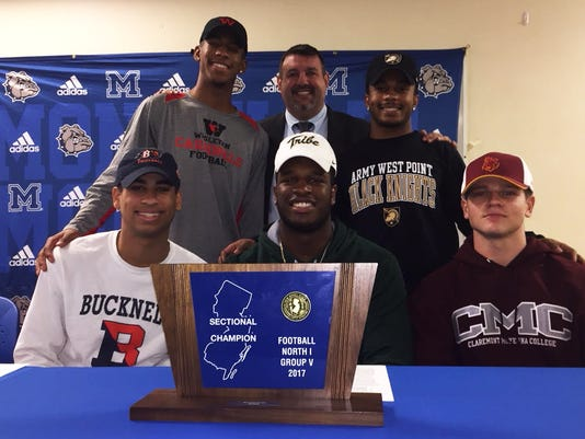 Montclair football signing day