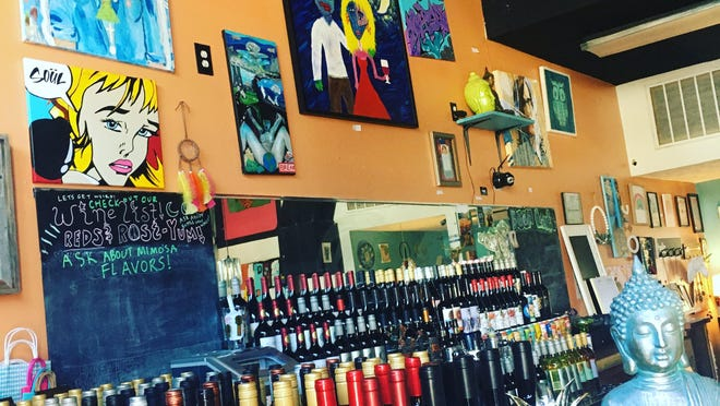 During coronavirus restrictions, Bottega in downtown Wilmington has shifted from primarily being an event space and art gallery to a bottle shop.
