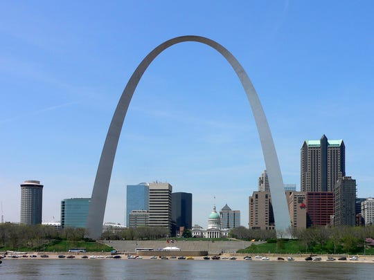 No trip to St. Louis would be complete with a visit to the Gateway Arch.
