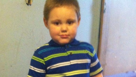 Logan Cox, 3, who had been missing for less than an hour before he was found in a parked car in front of the family's home four days earlier, died of heatstroke July 6, 2014.