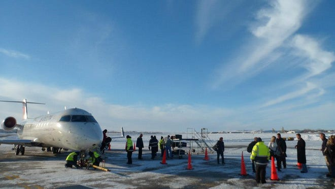 Delta Air Lines made its inaugural Delta Connection flight to the Sloulin Field International Airport in Williston, N.D., in November 2012.