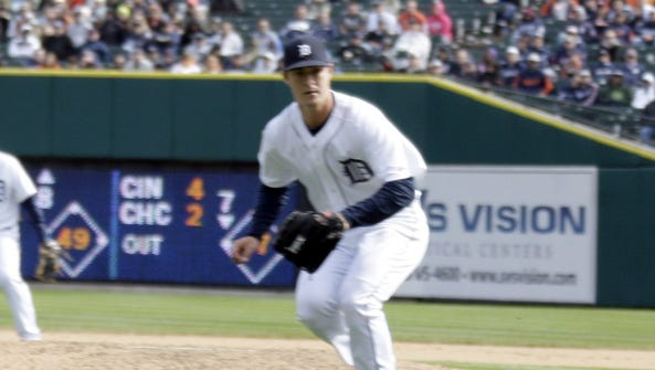 Former Tigers pitcher Thad Weber