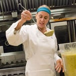 Making soup to warm addicts in recovery