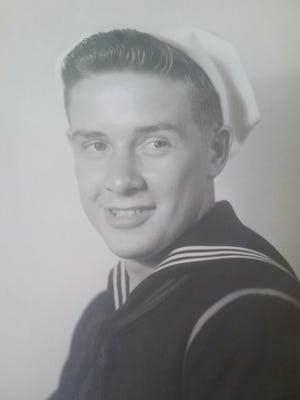 Frank Perro served in the US Navy during WW II.