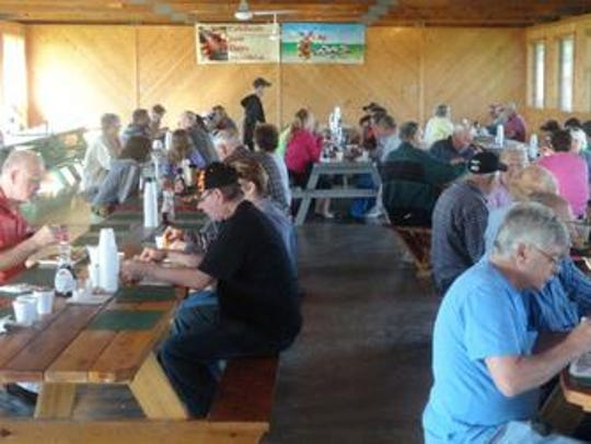 No shortage of June dairy breakfasts to attend in the