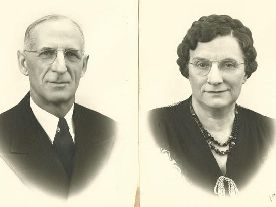 William Schulenburg, shown with wife Irene, was a city