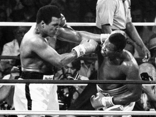 BOXING: USA TODAY Sports-Archive