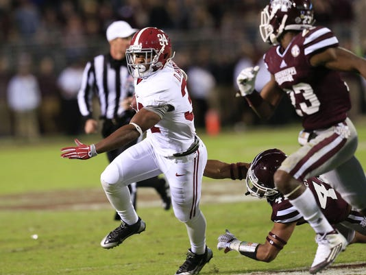 NCAA Football: Alabama at Mississippi State