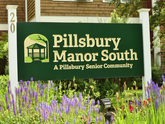 The sign at Pillsbury Manor South on Harbor View Road