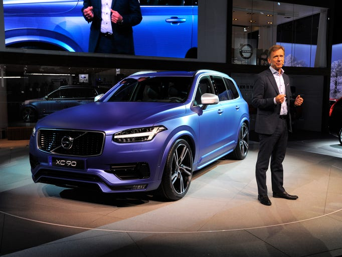 Hakan Samuelsson, president & CEO of Volvo Car Group,