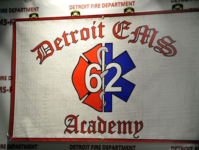 Today the 62nd class of Detroit Firefighters EMS Academy