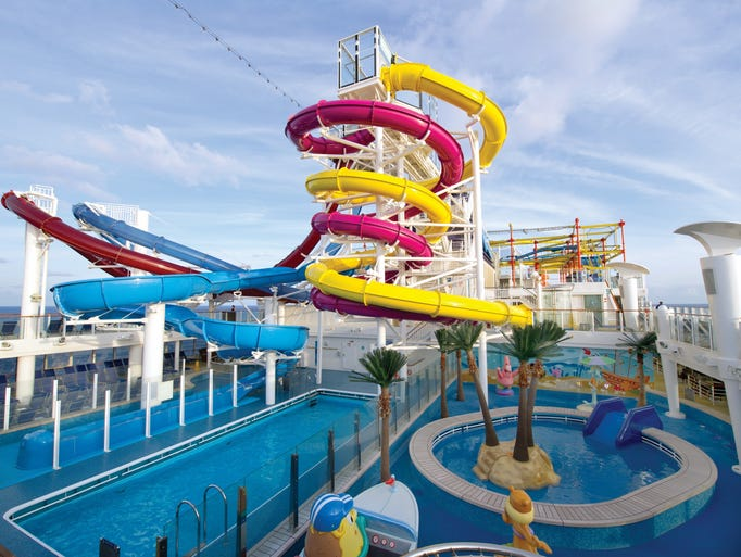 Norwegian cruise line ships including breakaway and epic have five