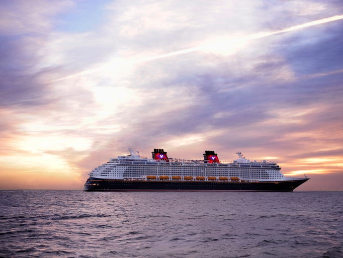 The Disney Dream accommodates 4,000 passengers who