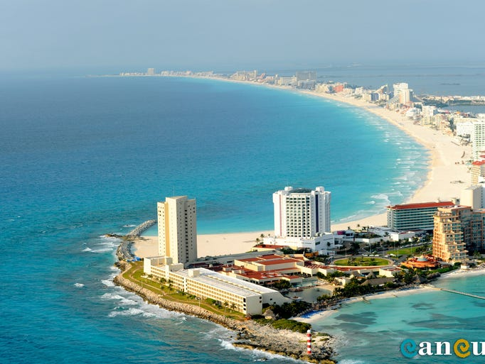 The development of Cancun began in 1970, before which