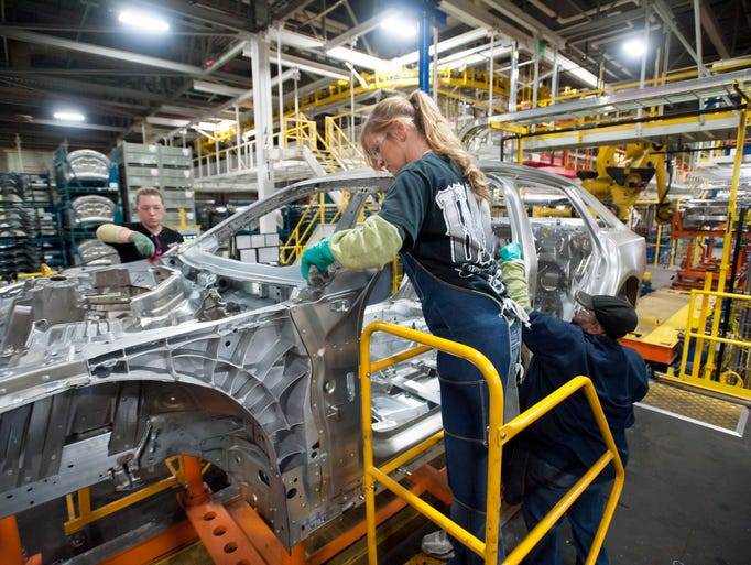 Cadillac ct6 production at detroit hamtramck assembly plant for General motors assembly plant