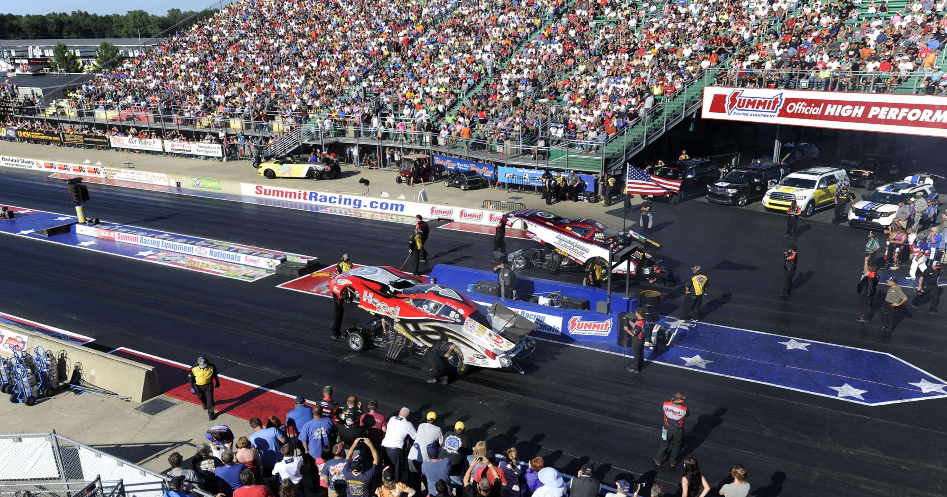 Norwalk stands out as destination race for NHRA