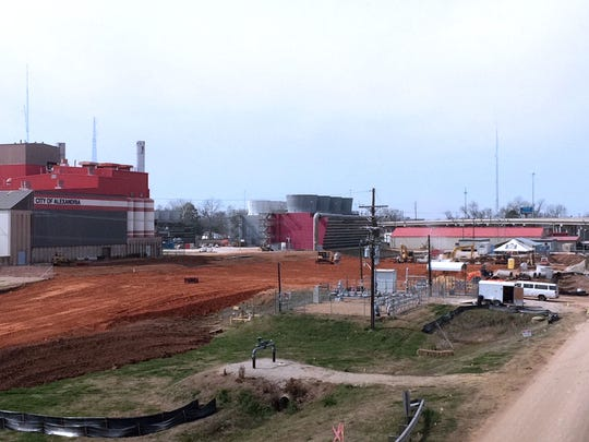 Alexandria's D.G. Hunter Generating Station — the city power plant — is being upgraded as seven new generating units are being installed. The project, being handled by Summit Industrial Construction of Alpharetta, Ga., is expected to be complete in February 2016.