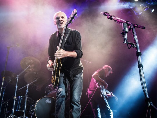 Peter Frampton plays at Riverbend Friday.