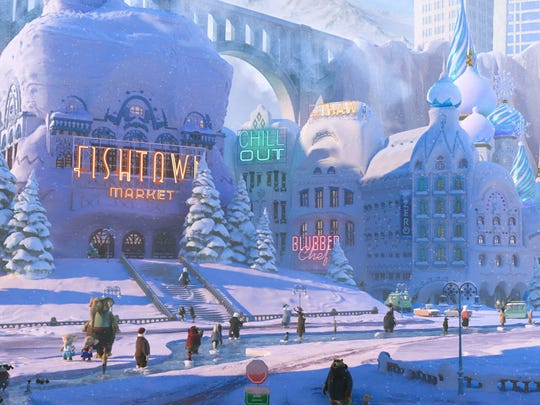Tundratown is a cool place for those animals who enjoy living in icy conditions.