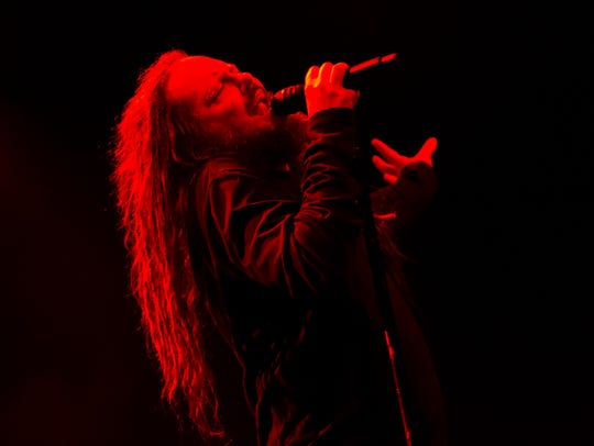 Jonathan Davis of Korn will perform Saturday at the El Paso Downtown Street Festival.