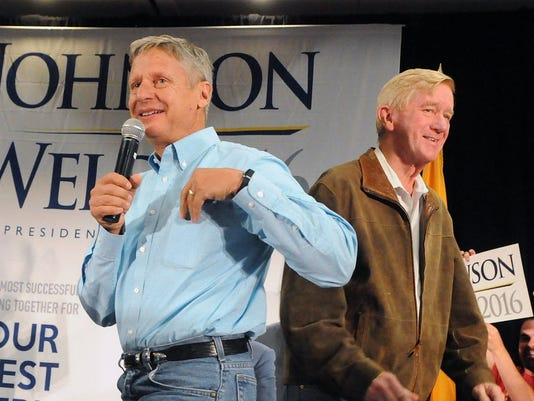 Johnson-Weld Libertarian ticket
