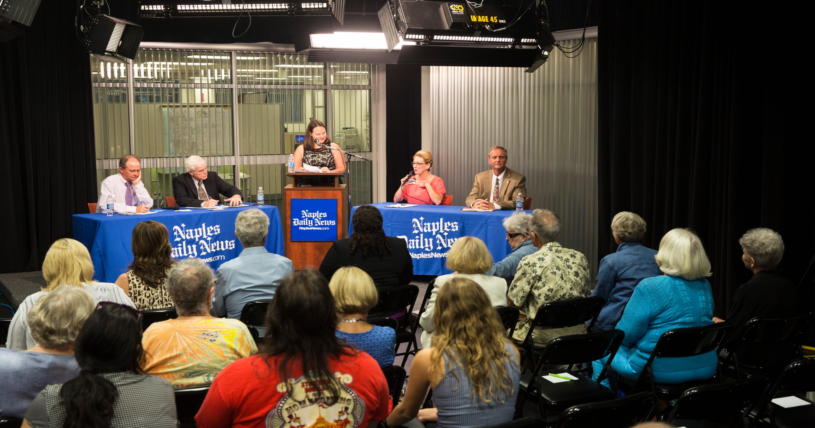 Collier County Commission Candidates Talk Population