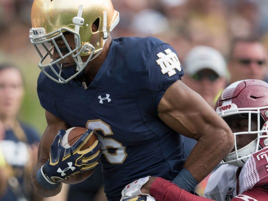 NCAA Football: Temple at Notre Dame
