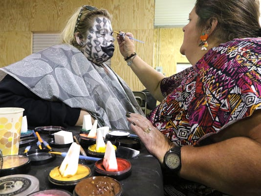 Makeup Techniques for The Haunt at the Ozaukee Co Fairgrounds