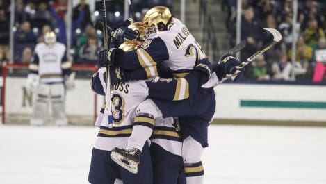 Notre Dame is moving from Hockey East to the Big Ten.
