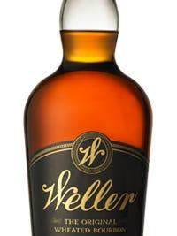 A bottle of 12-year-old William Larue Weller bourbon.