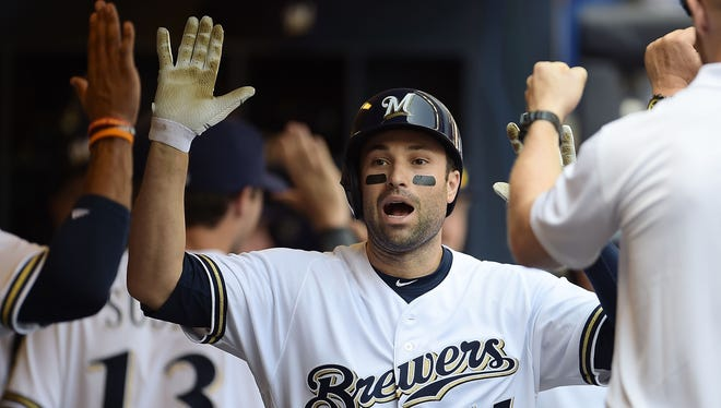 Neil Walker has settled in comfortably with the Brewers after being acquired from the New York Mets on Aug. 12.